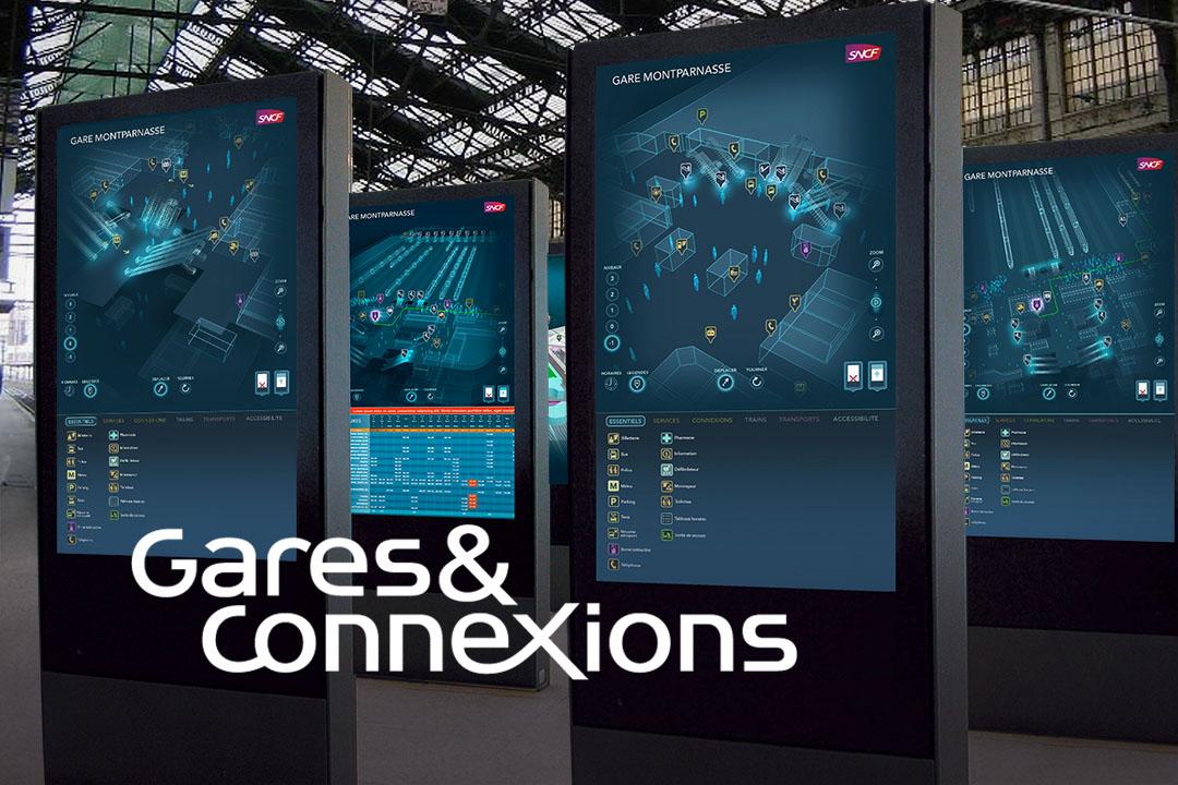 Gare et connexions